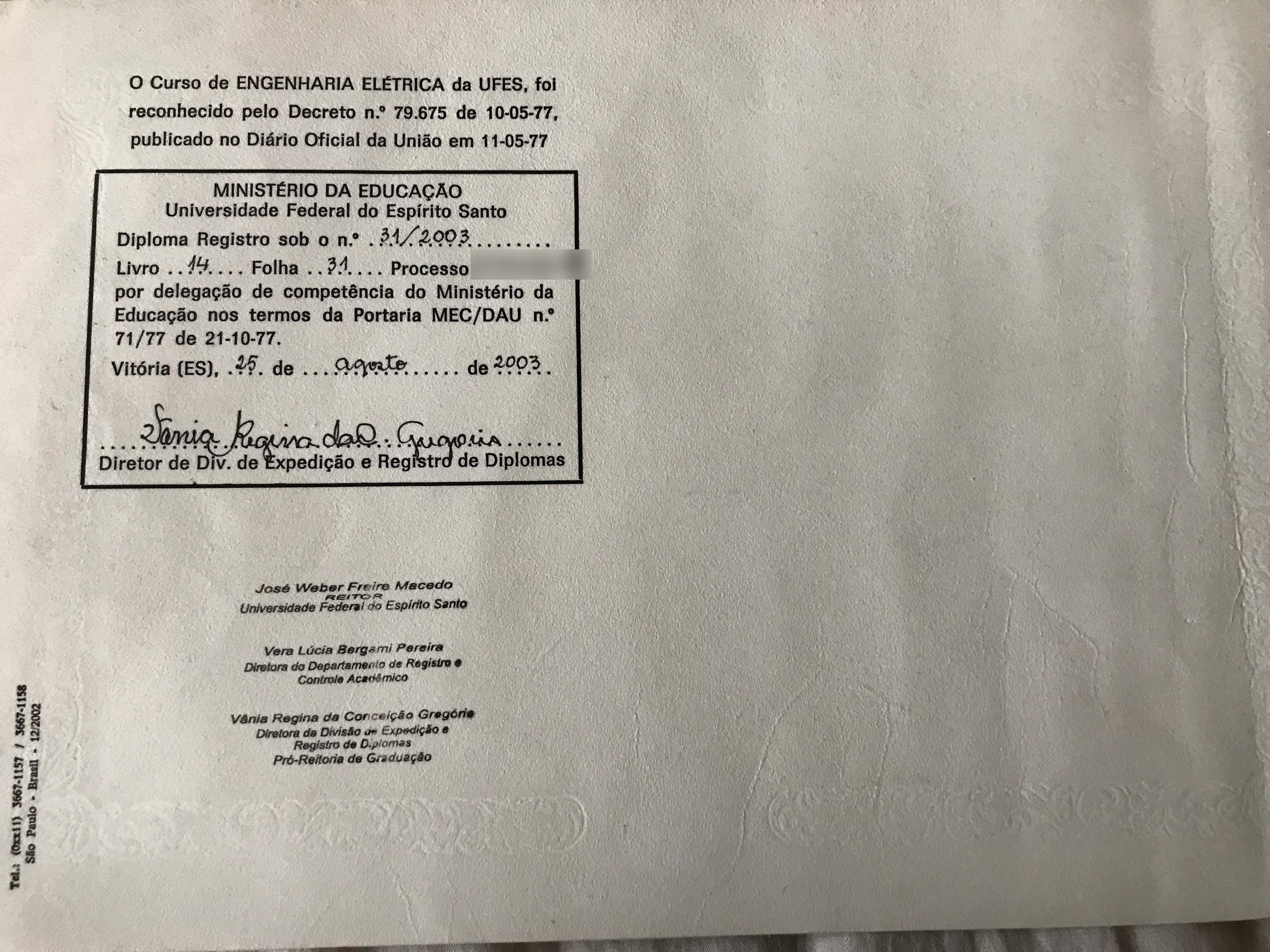 Claudio Souza Mattos Certifications Diplomas Awards